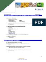 Ficha de Seguridad R 410A 1