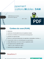 Développement d'Applications Mobiles v8