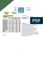 Lista de Precios Mira Bayer Chiapas 2018