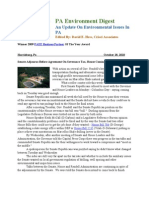 Pa Environment Digest October 18, 2010