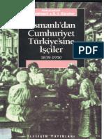 Donald Quataert & Erik Jan Zürcher - Osmanlı'dan Cumhuriyet Türkiyesine İşçiler 1839-1950.pdf