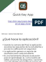 Spanish Quick Key App Tutorial 1