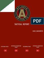 TACTICAL REPORT + TRAINING DRILLS | ATLANTA UNITED - TATA MARTINO