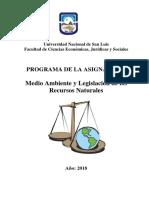 Programa 2018. UNSL. MA.