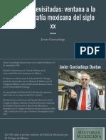 Revistas Revisitadas_ Ventana a La Historiografía Mexicana Del Siglo Xx