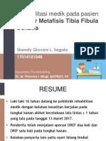 Lapkas Fraktur Metafisis Tibia Fibula Dekstra