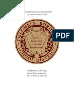 Columbia Teacher Contract