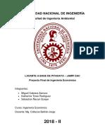 Proyecto Final Ingeniería Económica