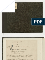 Rękopis J.S.Bach Inwencje dwu i  trzygłosowe