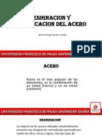 CLASIFICACION Y DESIGNACION DE LOS ACEROS.pptx