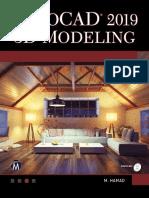 AutoCAD 2019 3D Modeling - Munir Hamad
