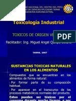 Toxicologia Industrial - 2007 Clase VII
