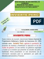 TALLER DE LA LEY INVIERTE PERU