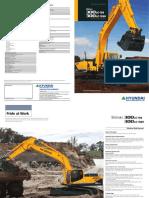 Excavadora Hyundai Robex 300LC-9C 300LC-9SH