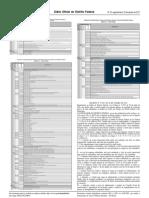 DODF -- Regulamentação da lei federal nº 13.303