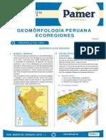 Geografia - Geomorfologia Peruana(Ecorregiones)