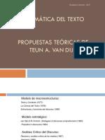 2017. Modelo Formal. Van Dijk2