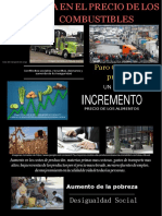 Poster Alza Combustibles