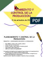 Planeamiento y Control de La Produccion