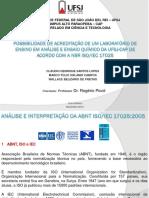 TCC ISO IEC 17025 - Wallace Belizario de Freitas-Apresentação