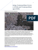 Cosmopolitan Green Ecology (CGE) by the Holistic University of Brisbane (HUB)