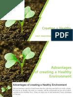 Creating a Healthy Environment