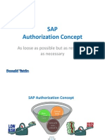 SAP - Authorization Concept