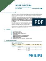 datasheet 74HC164D.pdf