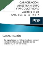 Presentación Power Point Capacitación y Adiestramiento