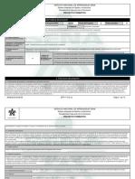 Reporte Proyecto Formativo -