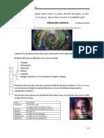 Educacion cosmica