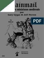Chainmail - Regras Para Miniaturas Medievais - 3ª Edição - Biblioteca Élfica