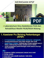 Materi Pelatihan KPSP Dan KMS