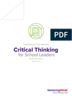 Critical Thinking for School Leaders