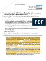 improving teacher effectiveness- rfs