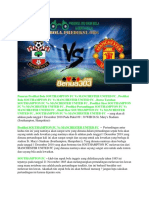 Prediksi Southampton Fc vs Manchester United Fc 1 Desember 2018