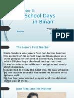 Chapter 03- School Days in Binan