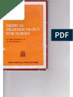 Medial Pharmacology for Nurses