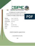 Informe Desparasitación Vacas y Pesaje