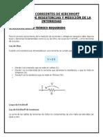 Ley de Corrientes de Kirchhoff