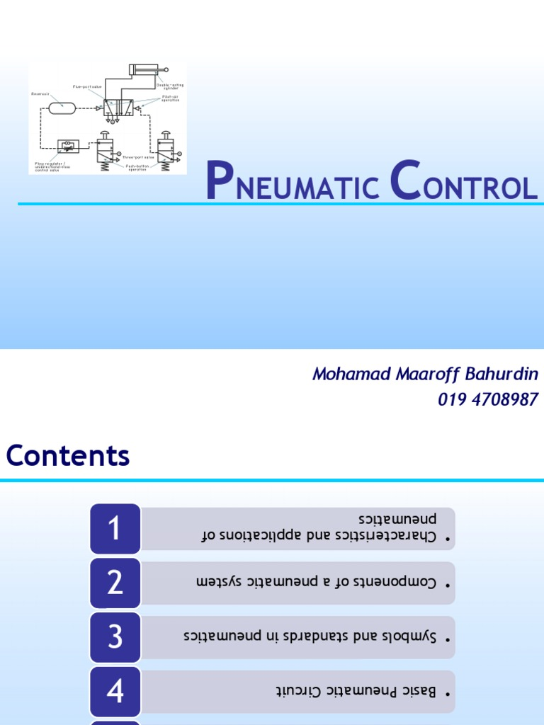 Pneumatic Basic In Designing Control Circuit Valve Actuator