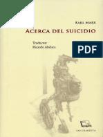 73 - Marx Acerca del Suicidio.pdf