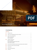 AnyLogic Supply Chain Simulation and Optimization Whitepaper