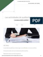 Lectura 02 Las actividades de auditoría