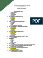 Cuestionario Reproductor Femenino