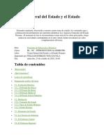 Teoria General Del Estado y El Estado Peruano