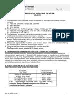 Rescuvator Model5 Manual