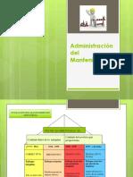 Diapositivas Para Examen Manteniento