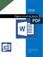 Parte Inicial de Word Descripcion