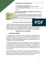 RAP1 EV04 Informe Análisis de Valores Misión y Políticas Organizacionales